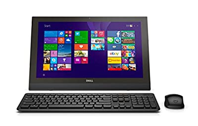 "Dell Inspiron 3043 All-in-One PC - 19.5"" Display, Intel Celeron N2840 2.16GHz, 4GB RAM, 500GB HD, NON-TOUCH Windows 10 Pro (Certified Refurbished)"
