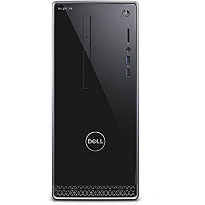 Dell Inspiron 3650 Desktop Computer PC, Intel Quad Core i5-6400 2.7Ghz CPU, 8GB RAM, 1TB Hard Drive, DVDRW, USB 3.0, HDMI, WIFI, Bluetooth, Gigabit Ethernet, Windows 10 Home (Certified Refurbished)