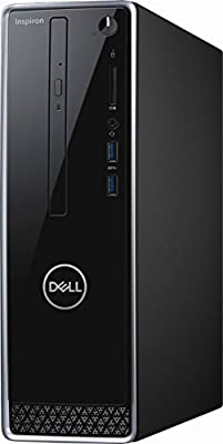 Dell Inspiron i3650 High Performance Desktop Computer, Intel Pentium G4400 3.3GHz, 8GB DDR3, 1TB HDD, DVD, WIFI, BLUETOOTH, Windows 10 Professional (No Monitor Included)