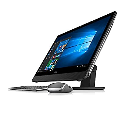 Dell Inspiron i5459-4020BLK 23.8 Inch All in One (Intel Core i5, 12 GB RAM, 1 TB HDD, Silver Cover with Black Articulating Stand)