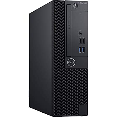 Dell OptiPlex 3060 SFF Desktop Computer with Intel Core i5-8500 3 GHz Hexa-Core, 8GB RAM, 256GB SSD (KM82W)