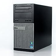 Dell Optiplex 9010 Tower Premium Business Desktop Computer (Intel Quad-Core i5-3470 up to 3.6GHz, 8GB DDR3 Memory, 2TB HDD + 120GB SSD, DVD, WiFi, Windows 10 Professional) (Certified Refurbished)