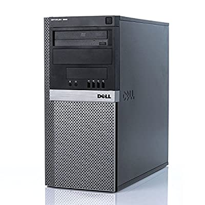 Dell Optiplex 980 Tower High Performance Business Desktop Computer (Intel Quad-Core i7 2.93GHz up to 3.6GHz, 8GB RAM, 2TB HDD + 240GB SSD, DVD, Wifi, Windows 7 Professional) (Certified Refurbished)