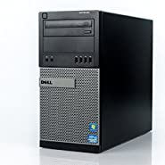 Dell Optiplex 990 Tower Premium Business Desktop Computer (Intel Quad-Core i7-2600 up to 3.8GHz, 16GB RAM, 2TB HDD + 240GB SSD, DVD, WiFi, Windows 7 Professional) (Certified Refurbished)