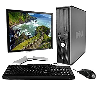 "Dell OptiPlex Desktop, Dual Core 2.0GHz, 4GB, 80GB, DVD, Genuine Windows Professional 32-Bit, 17"" Monitor (brands vary), Keyboard, Mouse"
