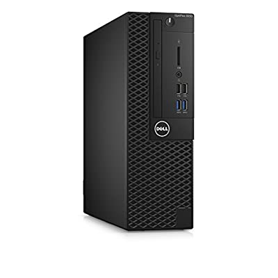 Dell OptiPlex Small Form Factor Business Desktop PC, Intel i5-7500 Quad-Core 3.4 GHz Processor, 8GB DDR4, Ethernet, DVDRW, Display Port/HDMI, Windows 10 Pro