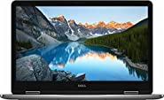 "Dell Top Performance Flagship 7000 Series Inspiron 17.3"" 2-in-1 FHD IPS Touch-Screen Laptop, Intel 8th Gen i7-8550U, 16GB DDR4, 512GB SSD + 2TB HDD, HDMI, USB-C, Backlit keyboard, NVIDIA MX150, Win 10"