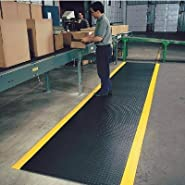 Diamond Antifatigue Floor Mat - 5ft. x 3ft. Dim.