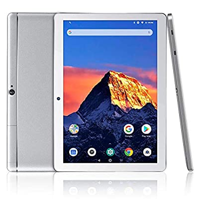 "Dragon Touch K10 Tablet 10.1"" Android Tablet with 16 GB Quad Core Processor, 1280x800 IPS HD Display, Mini HDMI, GPS, FM"