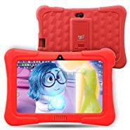 Dragon Touch Y88X Plus 7 inch Kids Tablet 2017 Disney Edition, Kidoz Pre-Installed w/ Bonus Disney Content (more than $60 Value) - Pink