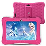 Dragon Touch Y88X Plus 7 inch Kids Tablet, Kidoz Pre-Installed Disney Content (More Than $80 Value) (Android 6.0 OS)