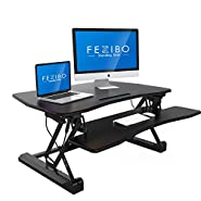 """FEZIBO –Standing Desk, Sit and Stand Desk 