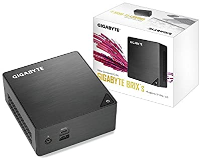 GIGABYTE (Ultra Compact Mini PC/Intel UHD Graphics 600/ M.2 SSD/HDMI (2.0A)/ DP1.2A Components Other GB-BLCE-4105