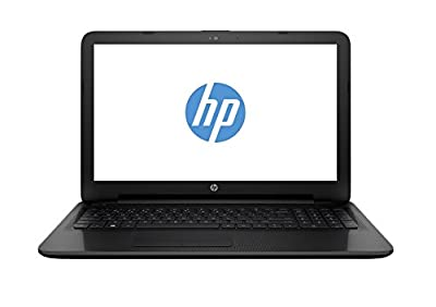 "HP 15-af131dx P1A95UA 15.6"" Laptop (AMD A6-Series, 4GB, 500GB, Windows 10 Home), Black"