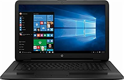 HP 2019 Premium 17.3 Inch Flagship Notebook Laptop (Intel Core i5-7200U/i5-8250U/i7-7500U 2.7GHz up to 3.5GHz, 8GB/12GB/16GB RAM, 128GB to 1TB SSD, 1TB/2TB HHD, Webcam, WiFi, DVD, Windows 10)
