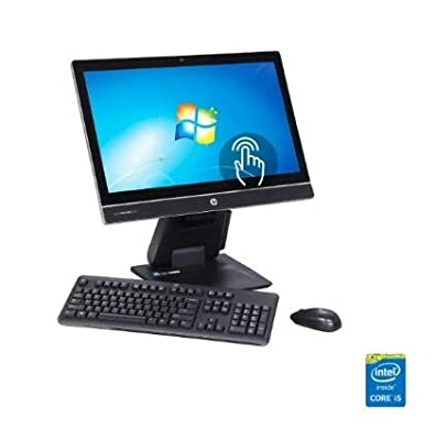 "HP 23"" FHD Touchscreen All-in-One PC EliteOne 800 G1 (Intel Quad Core i5-4690S 3.20 GHz, 4 GB DDR3, 500 GB HDD, DVDRW, Windows 7 Professional 64-Bit installed/ Windows 10 Pro CD included)"