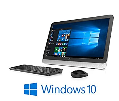 "HP 23-r117C, AMD Quad-Core A6, 23"" Full HD LED, Windows 10, All-in-One PC (Certified Refurbished)"
