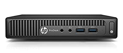 HP 400G2PD ProDesk 400 G2 Desktop Mini PC (Intel Core i5-6500T, 4 GB RAM, 128 GB SATA SSD, FreeDOS 2.0)