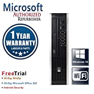 HP Elite 8300 Ultra Small Business High Performance Desktop Computer PC (Intel Core i5-3470S 2.9GB Quad Core,8GB RAM DDR3,1TB HDD,DVD-ROM,Wi-Fi,Windows 10 Professional 64)(Certified Refurbished)