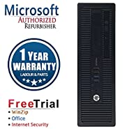 HP EliteDesk 800G1 SFF Intel Core i7 4770 3.2G,8G DDR3,2TB HDD,DVD,WIN10Pro64 (Certified Refurb)