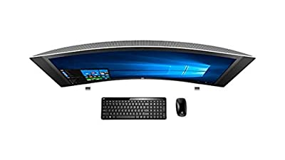 "HP ENVY 34 CURVED Desktop 1TB SSD 32GB RAM (Intel Core i7-6700K processor - 4.00GHz with TURBO BOOST to 4.20GHz, 32 GB RAM, 1 TB SSD drive, 34"" WQHD LED (3440x1440), Win 10) PC Computer All-in-One"