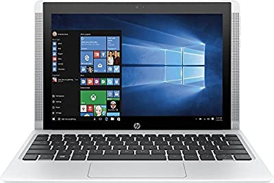 HP Pavilion x2 Detachable Premium Laptop (10.1 Inch HD IPS Touchscreen, Intel Quad-Core Atom x5-Z8300, 32GB eMMC SSD, 2GB RAM, 802.11ac, Bluetooth, Windows 10) (Certified Refurbished)