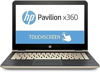 "HP - Pavilion x360 2-in-1 13.3"" Touch-Screen Laptop m3-u103dx - 7th Gen Intel Core i5-7200U - 8GB Memory - 128GB Solid State Drive - Gold"
