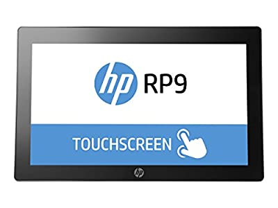 "HP RP9 G1 Retail System V2V70UT#ABA 15.6"" All-in-One Desktop(Black/Silver)"