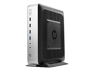 HP t730 Tower Desktop, 8 GB RAM, 32 GB flash, AMD Radeon HD, Black/Silver (W5W71UT#ABA)