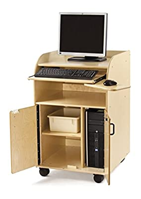 Jonti-Craft 1085JC Mobile Technology Stand, Keyboard Tray Kit