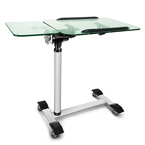 Buy Kelligo Morden Tempered Glass Laptop Table Tray Bed