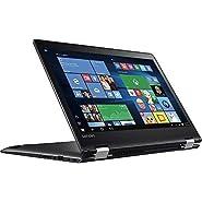 "Lenovo 14"" Convertible 2-in-1 Touchscreen Laptop, Intel Pentium Dual-Core Processor, 4GB DDR4 RAM, 500GB HDD, 8.5-hour Battery Life, WiFi-AC, Webcam, HDMI, Bluetooth, Windows 10"