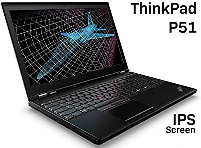 LENOVO 2017 THINKPAD P51 LAPTOP (KABY LAKE CPU): 15.6 FHD IPS, INTEL i7-7700HQ (7TH GEN), 8GB RAM, 500GB, NVIDIA QUADRO M1200M (4GB), WIN 10 PRO, TWO ADDTL M.2 TRAYS