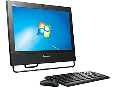 "Lenovo ThinkCentre M73z 20"" HD+ All in One Desktop Computer, Intel Quad Core i5-4570S 2.9GHz CPU, 8GB RAM, 500GB HDD, DVDRW, USB 3.0, VGA, RJ-45, Windows 10 Professional (Certified Refurbished)"