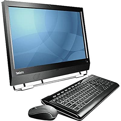 """Lenovo ThinkCentre M90Z 23"""" FHD All-in-One AIO Premium Flagship Desktop Computer, Intel Core i5 up to 3.46 GHz, 4GB RAM, 500GB HDD, DVD, Gigabit Ethernet, WiFi, Windows 7 Pro (Certified Refurbished)"""