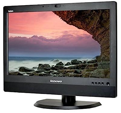 "Lenovo ThinkCentre M92Z 23"" HD+ All-In-One Desktop Computer, Intel Quad Core i5-3470S 2.9GHz, 8GB RAM, 500GB HDD, USB 3.0, DVDRW, DiaplayPort, RJ-45, Windows 10 Professional (Certified Refurbished)"