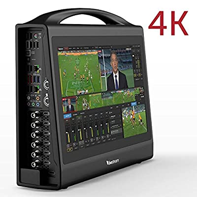 Livestream HD550 4K   Compact Portable All in One Live 4K Video Switcher