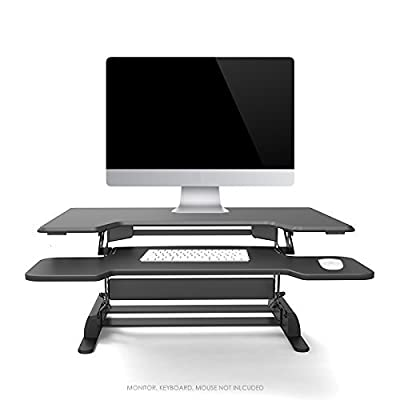 "Logix Gear 36"" Height Adjustable Standing Desk 