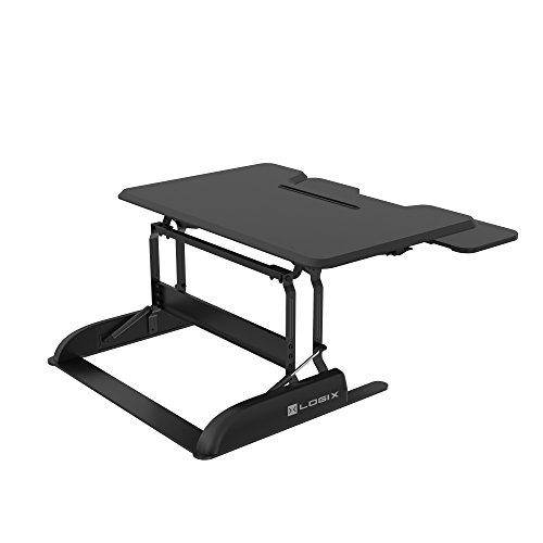 Get Logix Gear 36 Height Adjustable Standing Desk Black