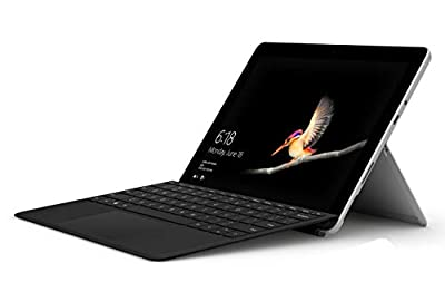"""Microsoft Surface Go with Type Cover Bundle 10"""" Touchscreen PixelSense Intel Pentium Gold 4415Y 128GB SSD Windows 10"""