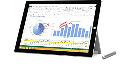 Microsoft Surface Pro 3 Tablet (12-Inch, 64 GB, Intel Core i3, Windows 10)