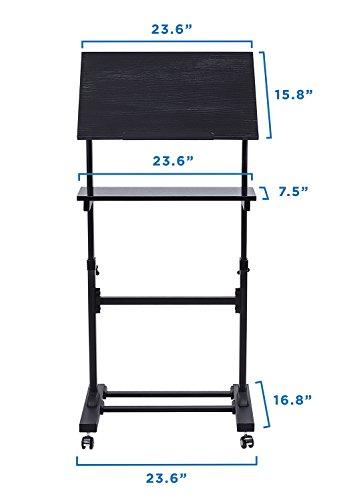 Buy Mount It Mobile Stand Up Desk Podium Presentation