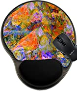 MSD Mousepad wrist protected Mouse Pads/Mat with wrist support design 25869608 Painting of a very large scale Oil On Canvas