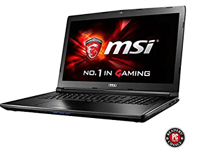 "MSI GL72 7QF-1057 17.3"" Intel Core i7 7th Gen 7700HQ (2.80 GHz) NVIDIA GeForce GTX 960M 8 GB Memory 1 TB HDD Windows 10 Home 64-Bit Gaming Laptops"