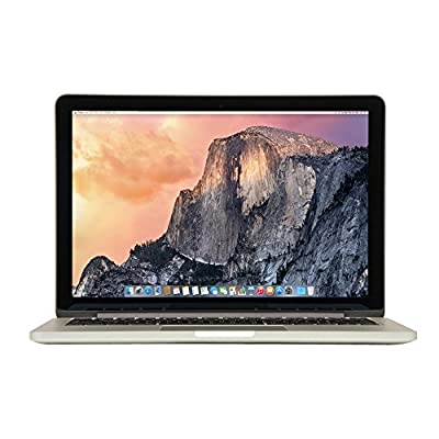 New Apple MacBook Pro MF839LL/A 13.3-Inch Laptop with Retina Display (2.7GHz Core i5 Processor, 8GB RAM, 128GB SSD, OS X El Capitan)