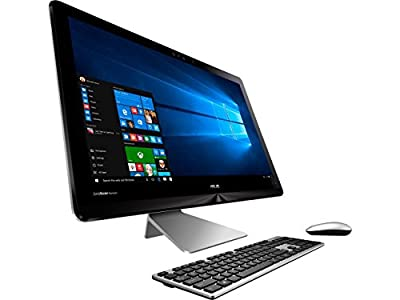 "Newest Asus Zen AiO All-In-One Touchscreen Flagship Premium 23.8"" FHD Desktop, Intel Core i5-7200U, 8GB RAM, 1TB HDD, Bluetooth 4.1, Wireless Keyboard and Mouse, 802.11ac, Windows 10"