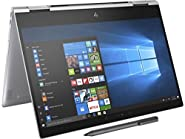 "Newest HP Spectre x360-13t Quad Core(8th Gen Intel i7-8550U, 16GB RAM, 512GB PCIe NVMe SSD, IPS micro-edge Touchscreen Corning Gorilla, Win 10 Ink)Bang&Olufsen 13.3"" 2-in-1 Convertible Stylus - Silver"