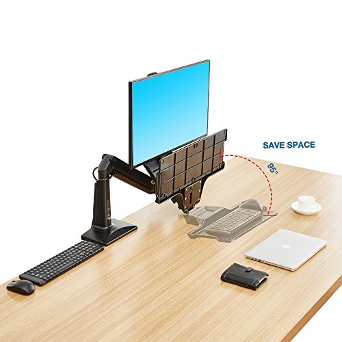 Buy North Bayou Sit Stand Desk Height Adjustable Standing