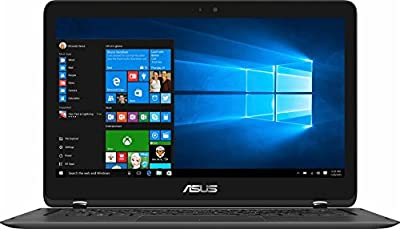 "Premium ASUS 13.3"" 2-in-1 Full HD IPS Touch-Screen Ultrabook, Intel i7-7500U, 16GB DDR4 RAM, 512GB SSD, HDMI, Bluetooth, 802.11ac, Fingerprint Reader, Backlit Keyboard, Light and Thin-Windows10"