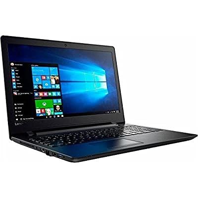 Premium Lenovo 15.6 inch HD High Performance Laptop, Quad-Core AMD A6-7310 2GHz, 4GB RAM, 500GB HDD, AMD Radeon R4 Grapgics, Wifi, DVD+/-RW, HDMI, Webcam, Windows 10- Black